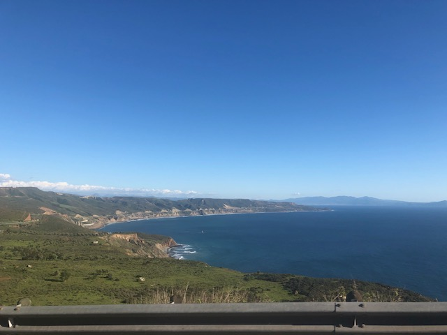 Driving into Baja California with aCamper